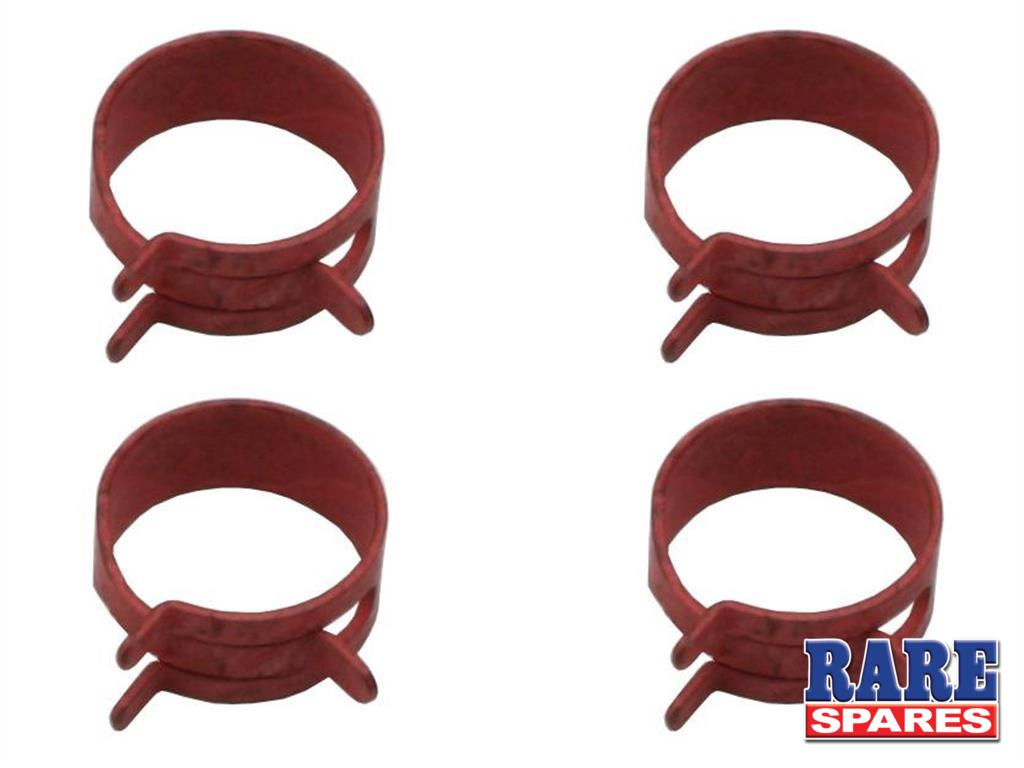 "Hose Clamp Kit (Spring Steel) 11/16"" (Red)(4 Pcs"