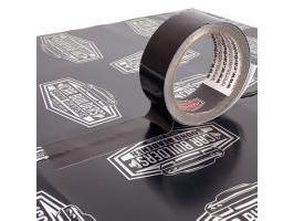 Car Builders Black Aluminium Foil Tape 38Mm x 15M