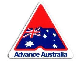 "Decal VC ""Advance Australia"""