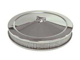 "Tfi Chrome Air Cleaner 14""X2"" Holley Std Base"