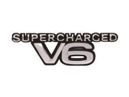 "Badge ""Supercharged V6"" VS VT VX Commodore Fender"