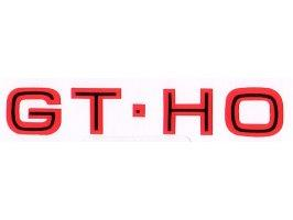 "Decal ""Gt Ho"" Glove Box XY GT Ho"