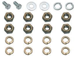 Nut & Bolt Set 48 FJ Engine Mounts (3)