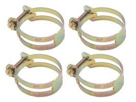 "Hose Clamp Set Utilux Type 1 5/8"" x 4"