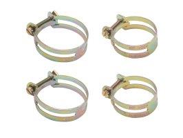 "Hose Clamp Set Utilux Type 1.88"" X 2 1.5"" X 2"