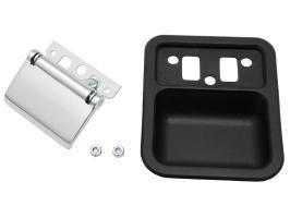 Inn Door Handle Kit XT - XY ZB - ZD R/H Black Bucket