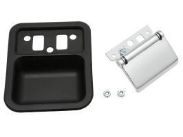 Inn Door Handle Kit XT - XY ZB - ZD L/H Black Bucket