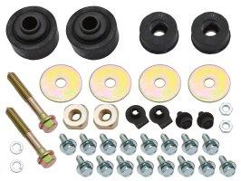 Radiator Support Mount Kit HQ - WB All With Bolts