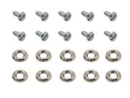 Screw Set Kick Panels 48 FJ (10 X 10 Pcs)